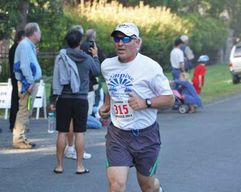 Dave Deselle photos of the Kenwood footrace, 2009-2014