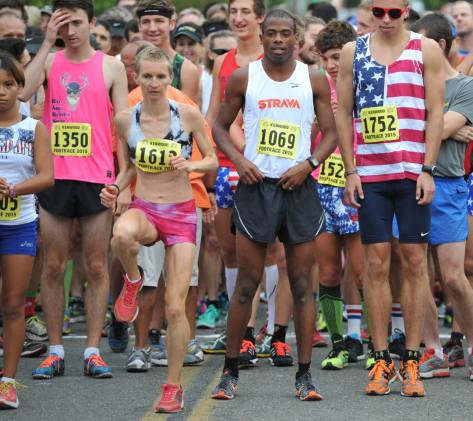 The Kenwood Footrace, July 4th,  2015. Photo by Douglas Murdoch